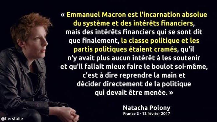 Faut(il rappeler que Natacha Polony est tout ce qu'on veut sauf gauchiste ?