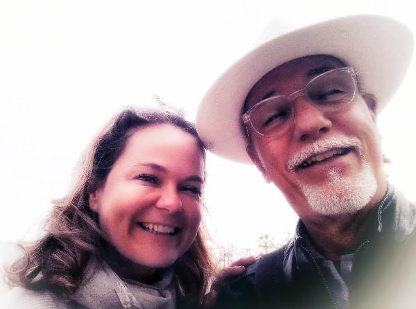 Hélène et moi, à Manilva