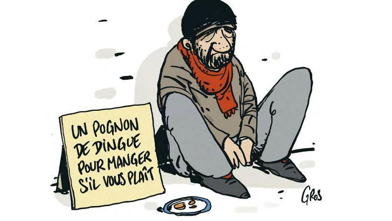 Macron (notre Trump à nous) : On dépense un pognon de dingue dans le social !