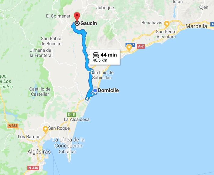 Diaporama Gaucin, Andalousie