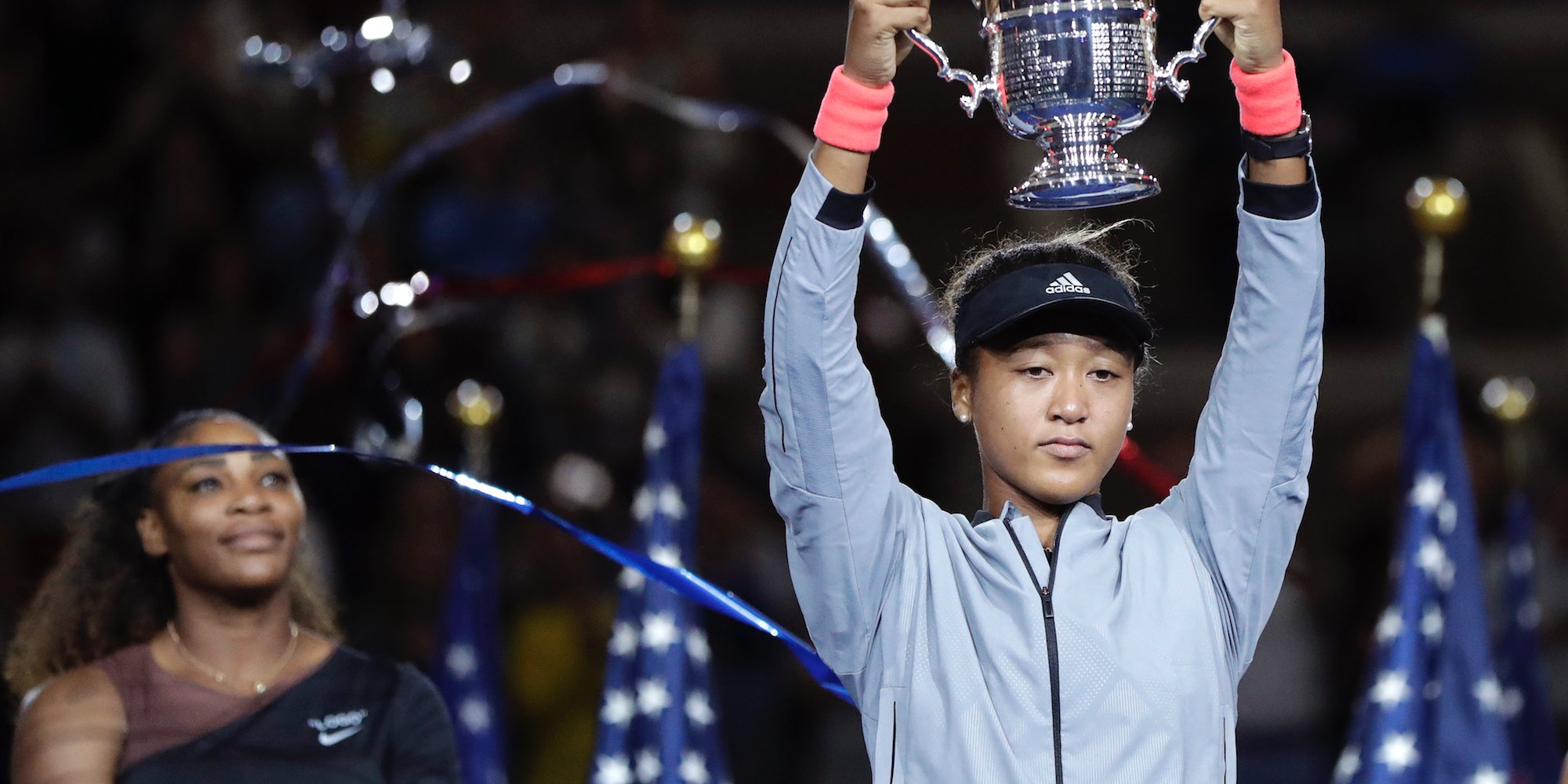 Finale de l'US Open : Naomi Osaka, 20 ans, a balayé  Serena Williams...
