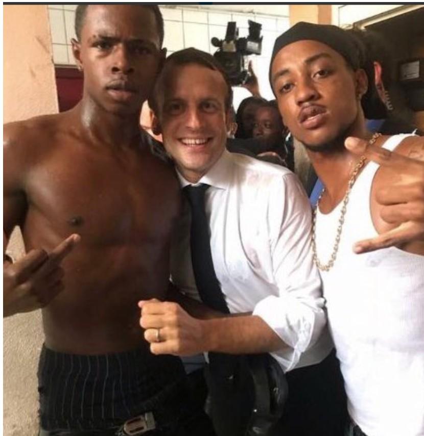 Macron à Saint Martin : embrassons-nous, Folleville !