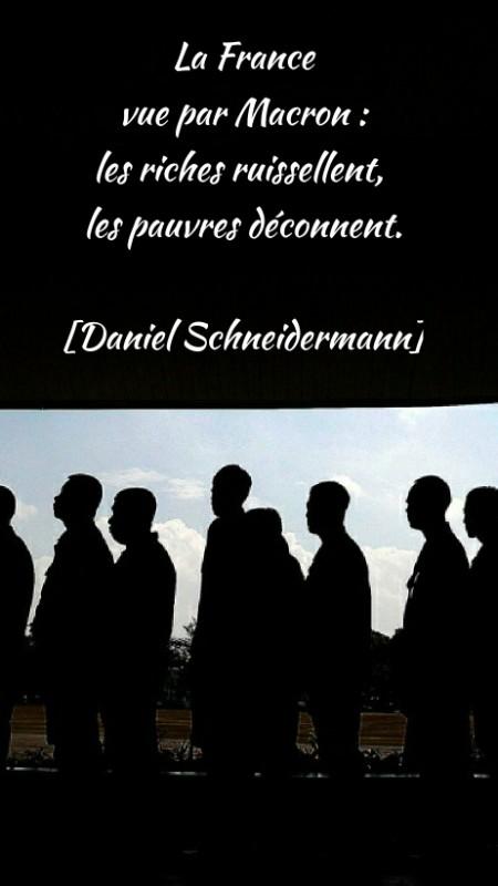La France et les Français, vus par Macron