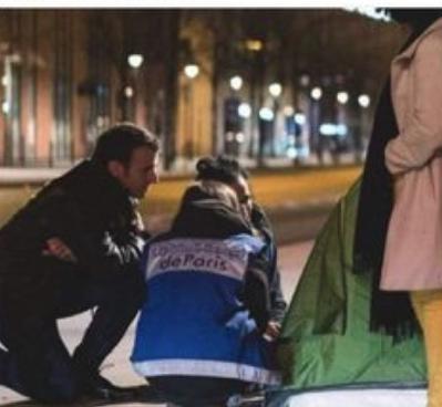 Macron en maraude, la posture et l'imposture