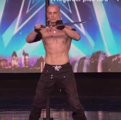"Alex Magala affole ""Britain's got talent"""
