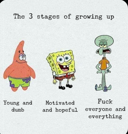 Les trois âges de la vie. Personnellement, je préfère le dernier 😏