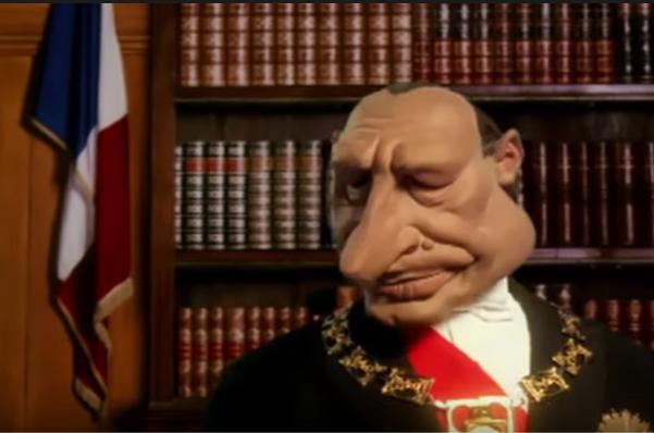 Jacques Chirac chez les Guignols de l'Info