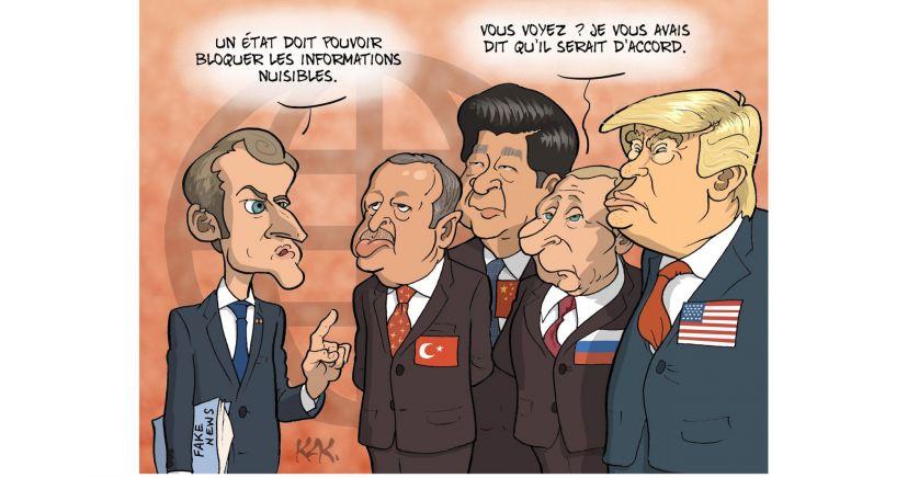 Face aux fake news, deux sites à consulter régulièrement : Checknews.fr et Hoaxbuster.com