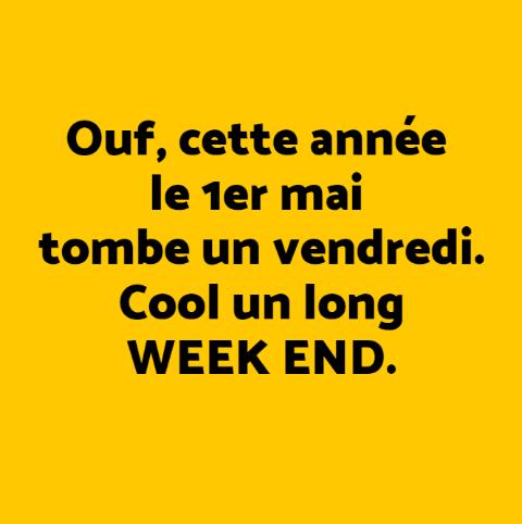 L'humour de la semaine