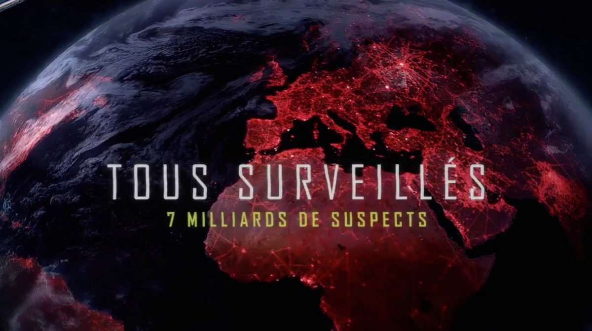 Tous surveillés : 7 milliards de suspects | ARTE
