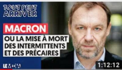 Macron ou la mise à mort des intermittents et des précaires