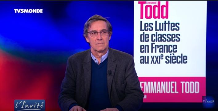 Emmanuel Todd : les luttes de classes en France au XXI ème siècle