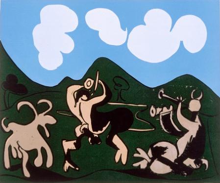 Fais moi peur ! Picasso, faunes et chèvres.