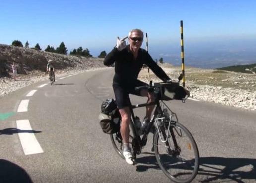 Le Ventoux  à vélo, après 70 ans, faut le faire ! Surtout avec un vélo qui ne doit pas être des plus légers