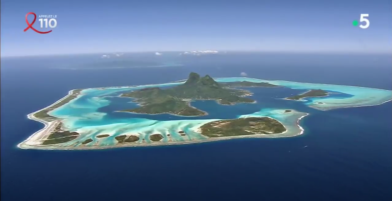 Polynésie, un paradis bleu