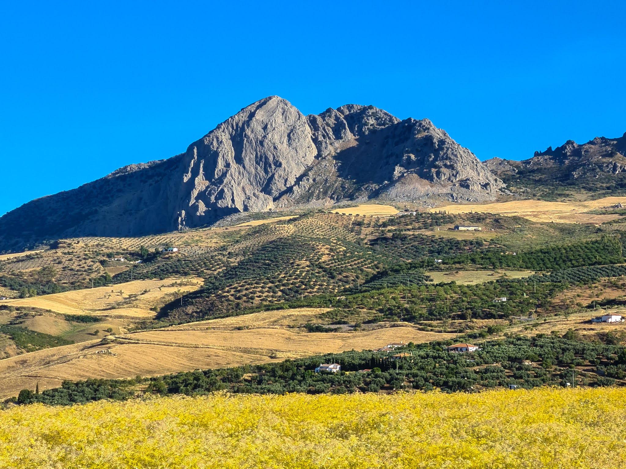 Montagnes près de Colmenar.