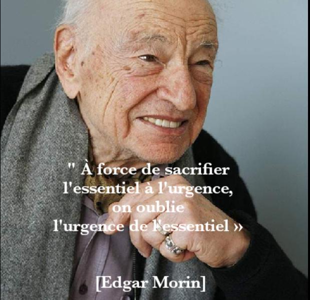 Edgar Morin a eu 100 ans, le 8 juillet dernier