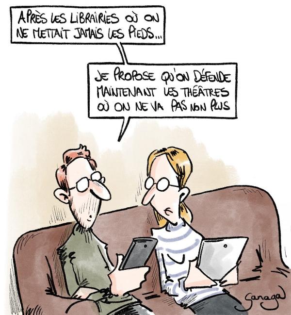 Illustration de quelques mots de français par l'exemple