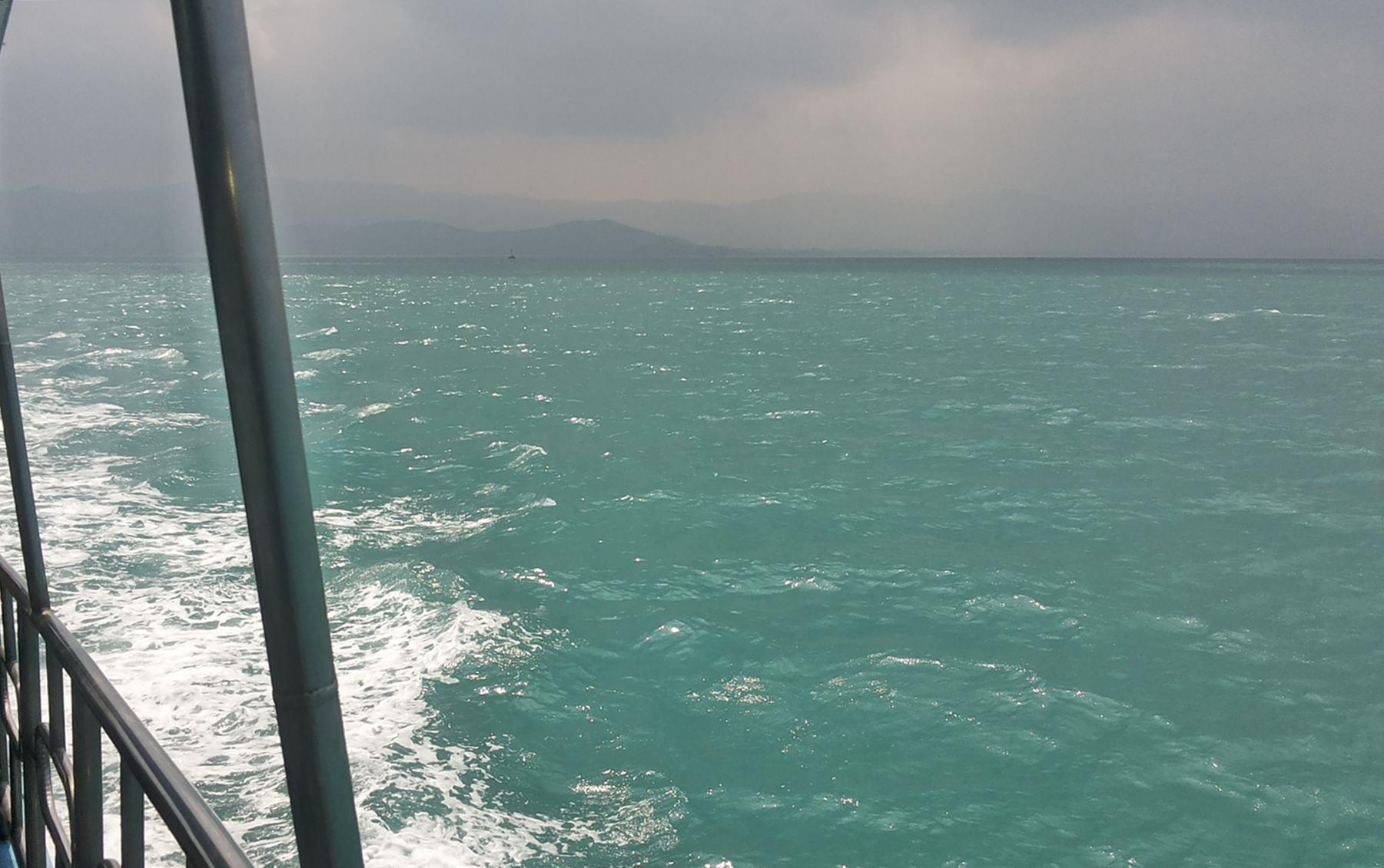 Koh Samui, vue du ferry, en route vers Koh Phangan