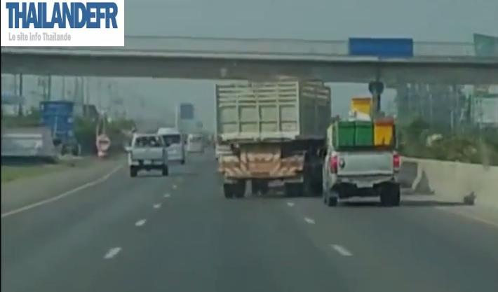 Ce qu'on peut voir sur les routes en Thaïlande...