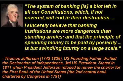 Le Dollar est tout aussi dangereux que le Bitcoin !