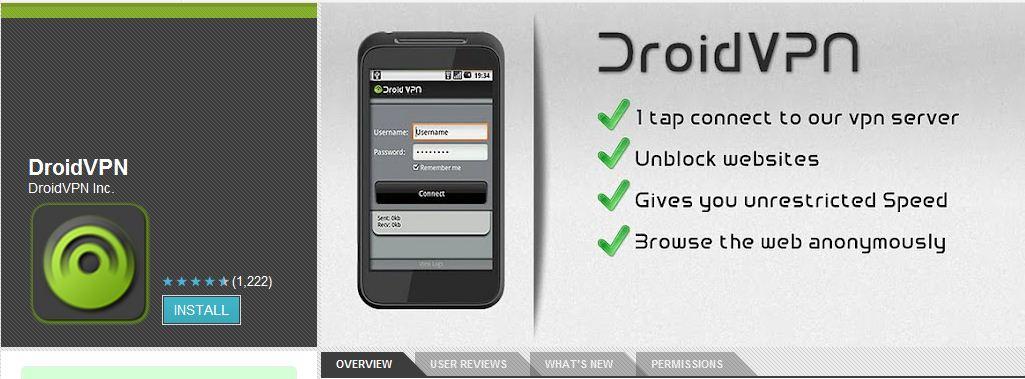 Droid VPN : téléchargez vos applis sur les Google Play étrangers !