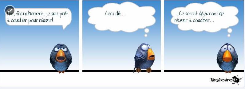 Les mots d'oiseau de la semaine