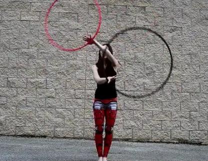 Une virtuose du hula oop !