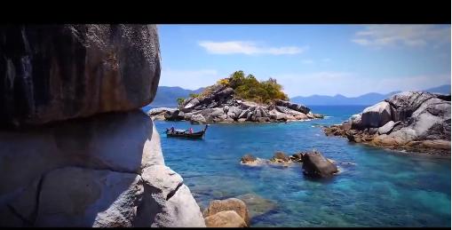 La Thaïlande vue du ciel