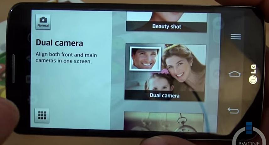 Dual camera mode