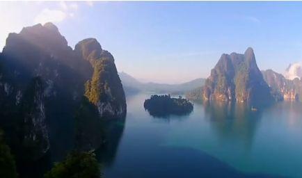 La Thaïlande, vue du ciel