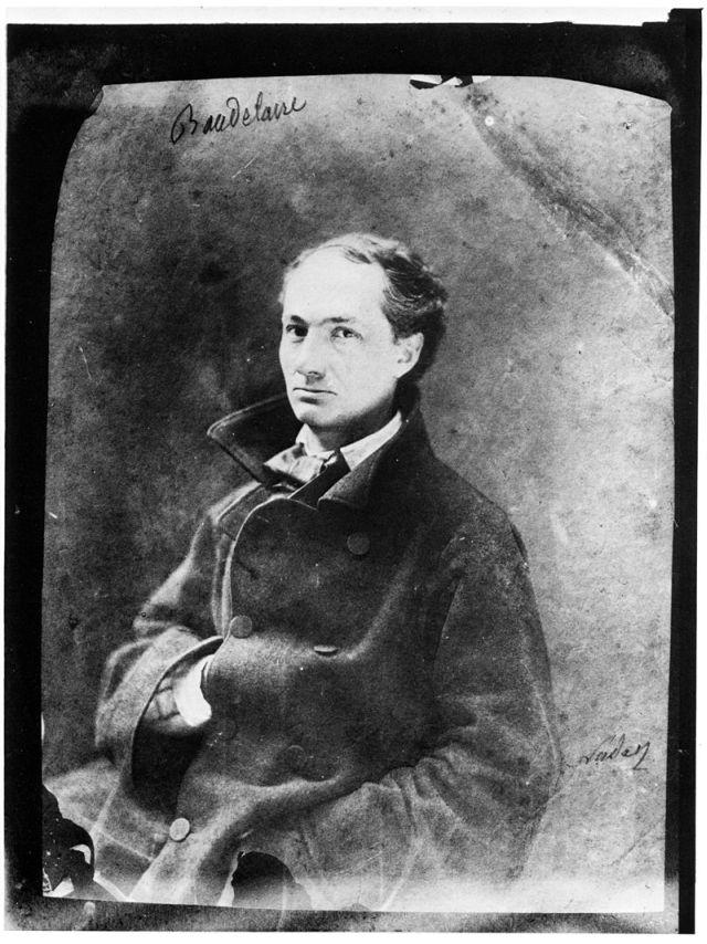 Charles Baudelaire, par Nadar