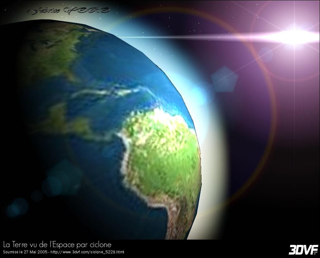 La terre, comme vous ne l'avez jamais vu !