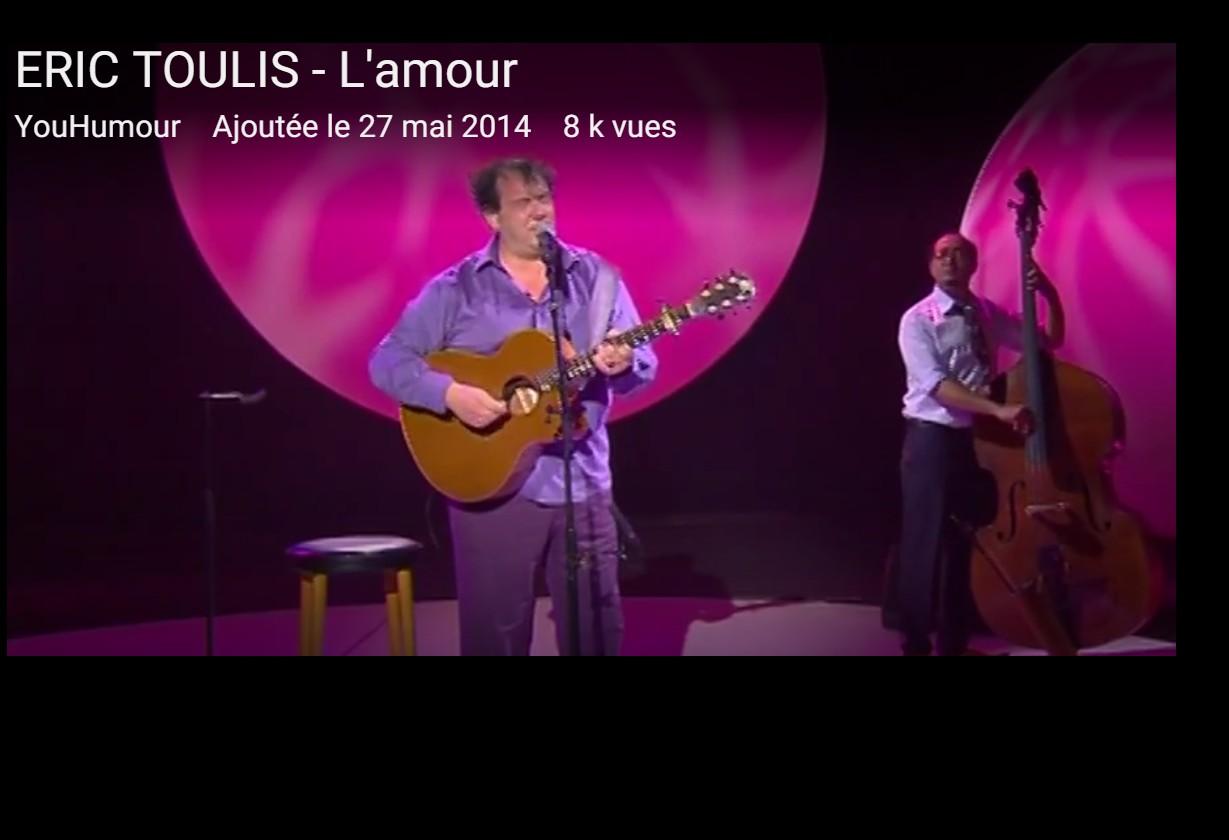 Eric Toulis : l'amour