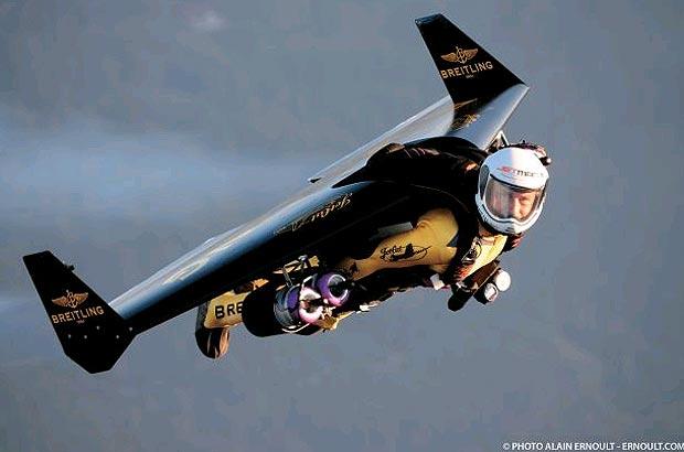 Jetman, l'homme avion
