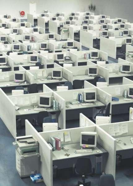 Un employé surpris en train de ne pas faire semblant de travailler un vendredi