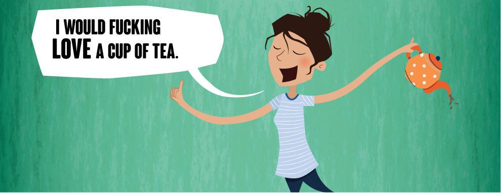Voulez-vous une tasse de thé?