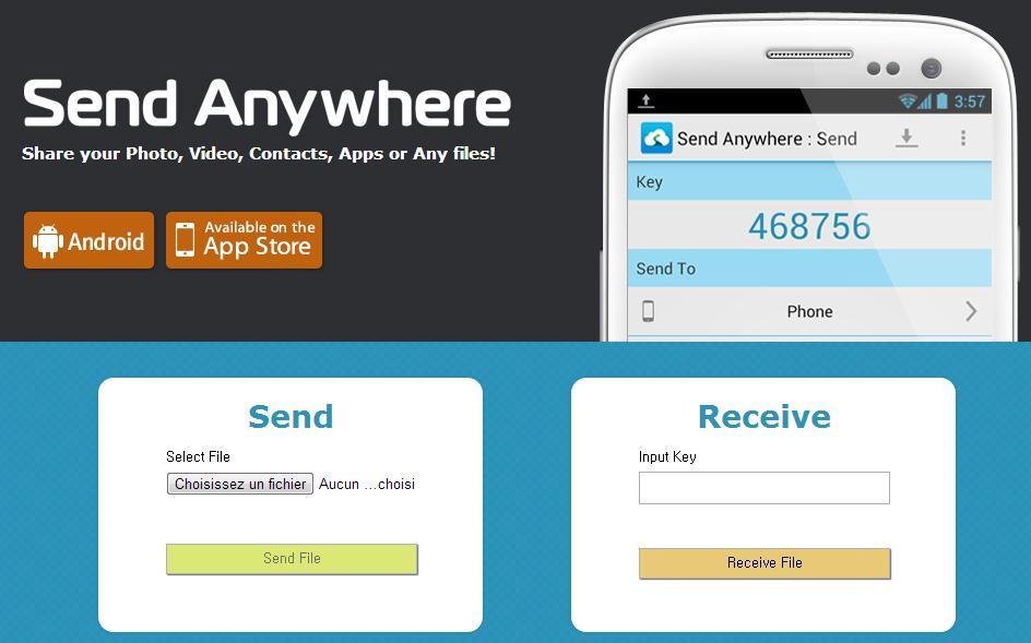 Send Anywhere : le meilleur gestionnaire de transfert de fichiers
