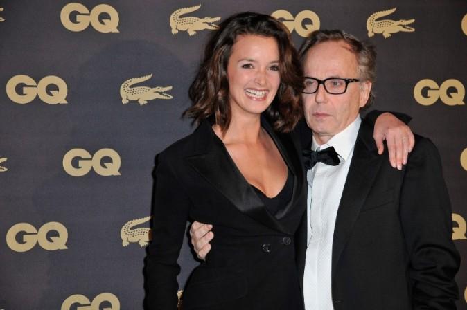 Fabrice et Charlotte, sa femme. Quand je vous dis, que cet homme a du goût.