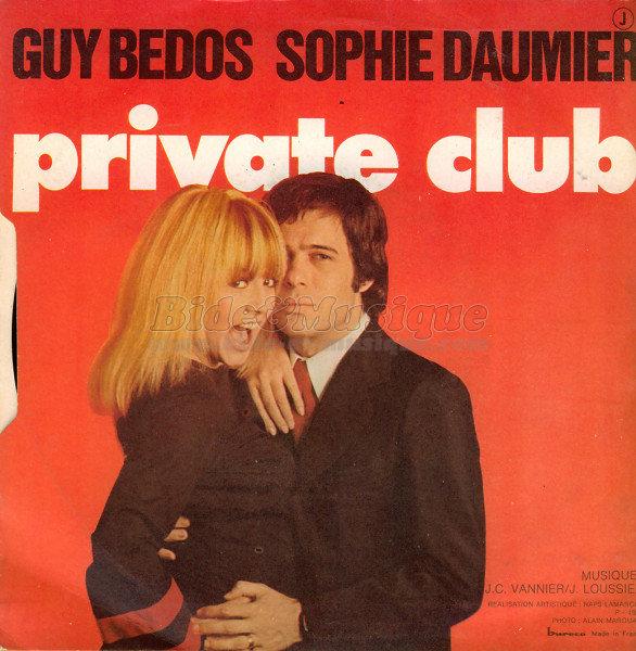 Sophie Daumier et Guy Bedos : Private Club