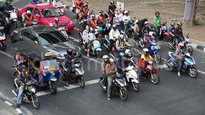 En Thaïlande, il n'y a pas de passages protégés !