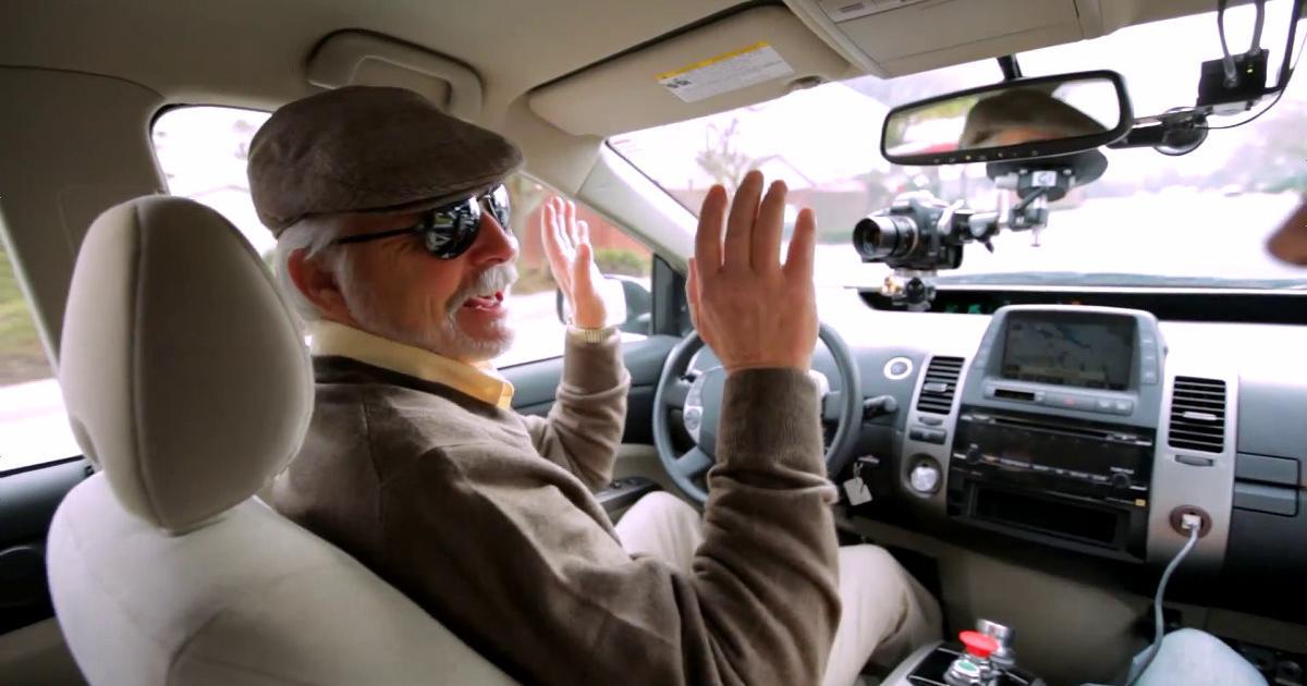Un aveugle conduit Google ?