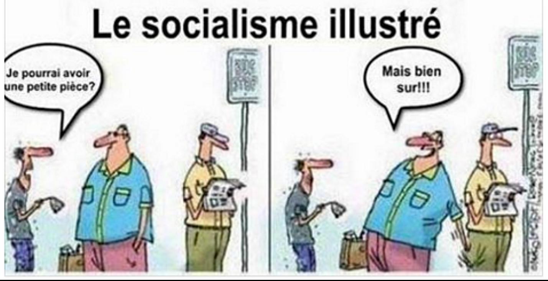 C'est le socialisme vu par Hollande. Dans le vrai socialisme ce n'est pas au français moyen qu'on fait les poches...