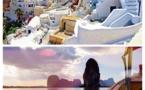 Santorin (Grèce) Baie de Phang Na (Thailand)