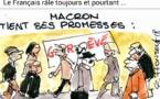 Le seul domaine dans lequel Macron tient ses promesses !