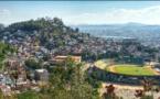 Antananarivo, vue depuis la route vers le palais de la Reine, à faire à pied de préférence.
