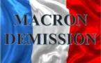 Dans l'intérêt de la Nation, Macron doit démissionner.