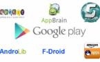 Alternatives au Playstore de Google et comment les installer.