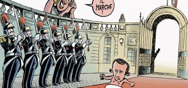 La France et les caprices de Macron 1er