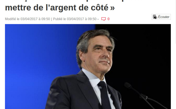 Quand Fillon ajoute l'insulte à l'abjection